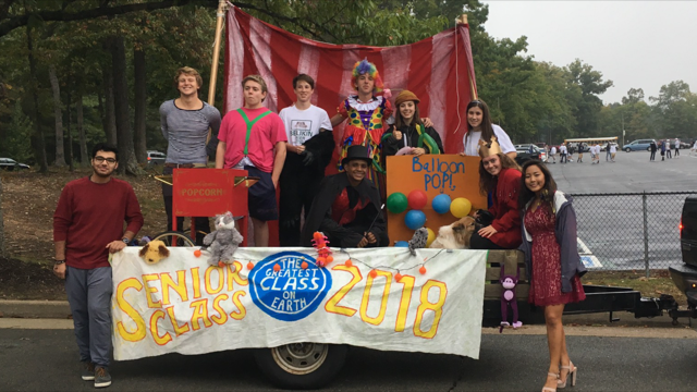 Homecoming Parade Showcases Circus Atmosphere