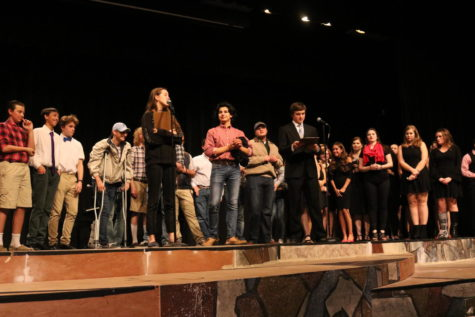 Shakespeare Earns Second Place in One Act Competition
