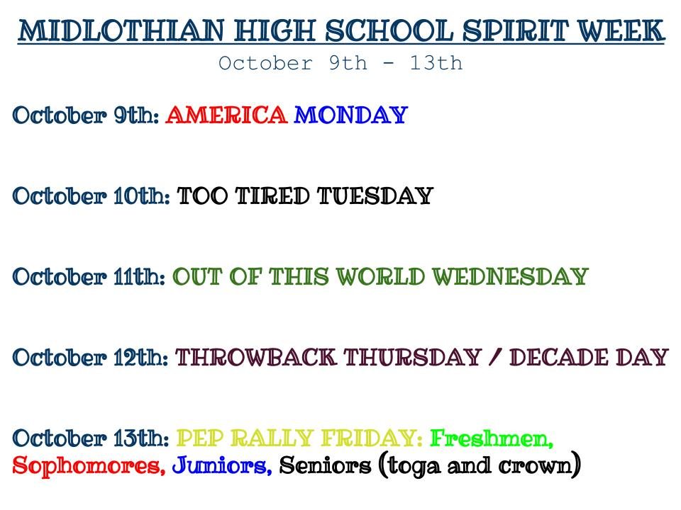 Themes+for+the+2017+Homecoming+Spirit+Week