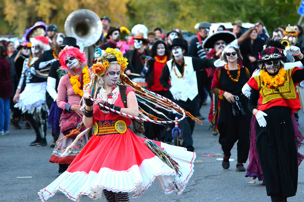 Day of the Dead celebrations begin on the midnight of October 31 and last until November 2nd.
