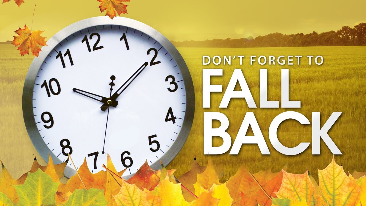 Daylight Saving Time ends on November 5th.