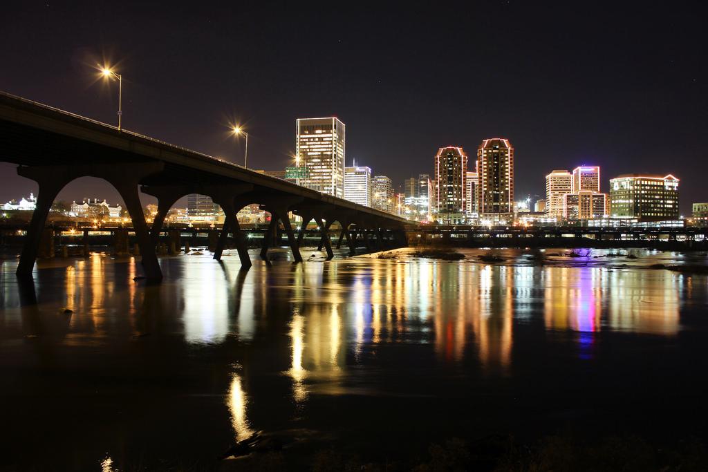 Richmond, VA, skyline