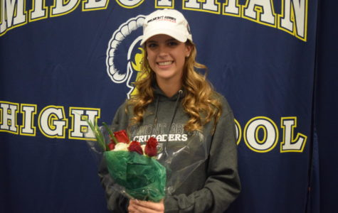 Katie Call will play lacrosse at Belmont Abbey next year.