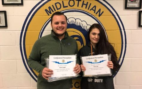 November Students of the Month: Hunter Forsythe and Trinity Hicks