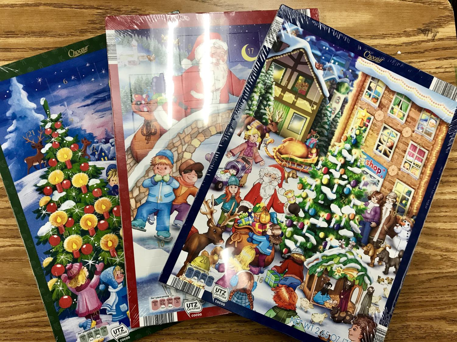 Buy a German Advent Calendar for $2.50 each.