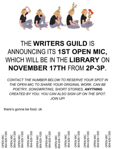 Writers Guild Open Mic