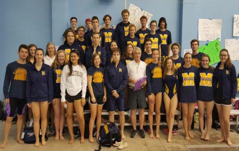 Midlothian High School Swim Team 2016-2017