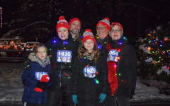 Runners Defy Cold to Tackle the Tacky Light Run