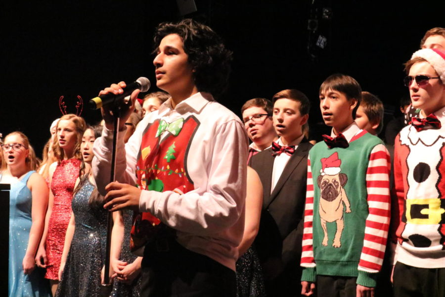 Midlo Music Department Fosters Spirit of the Season