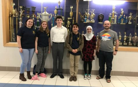 Competing against the best in the region at Super Regionals, the Forensics and Debate team made sure to fight as hard as they could to win.
