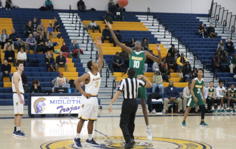 Midlo Men's Basketball Suffers Tough Loss to Huguenot