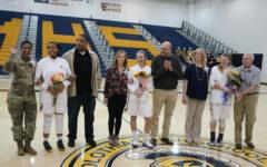 Lady Trojans Basketball Recognizes Seniors