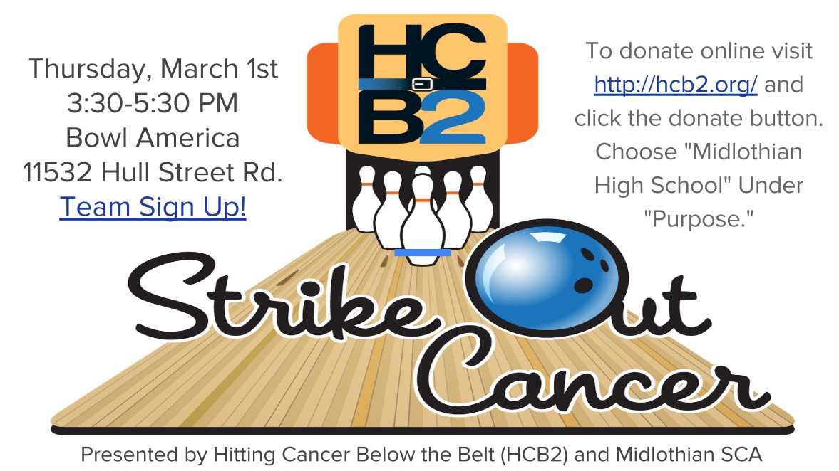 Strike Out Cancer commences on March 3rd.