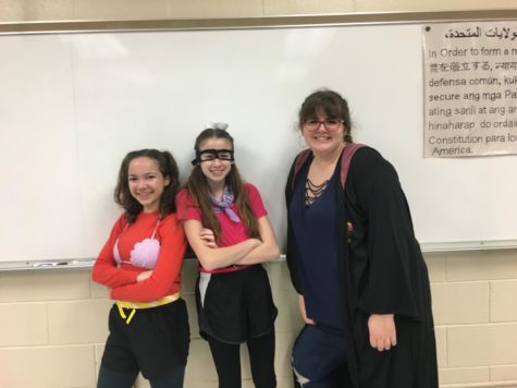 Students Dress as Characters to Emphasize Less Screen Time