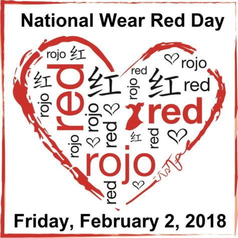 Wear Red on February 2!