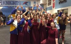 Winterguard Takes Victory