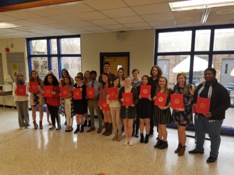 Spanish Scholars Receive Recognition