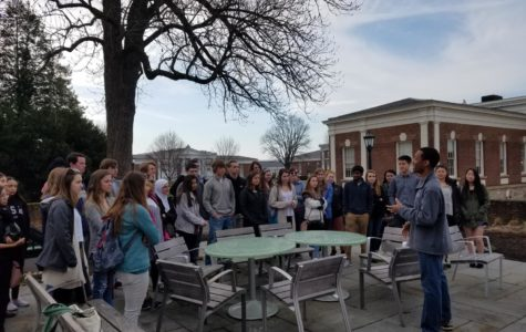 Midlo's Spanish Students Take a Day to Visit UVA