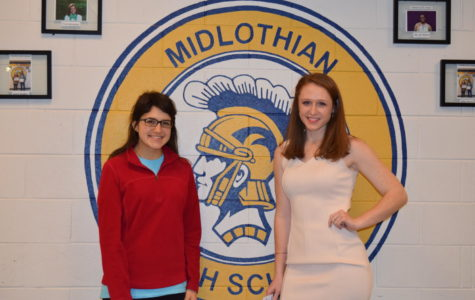 Congratulations, Midlo Students of the Year, Nora Carlucci and Brooke Bailey!