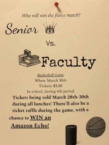Senior Faculty Basketball Game Approaches