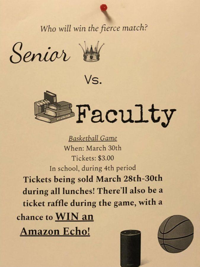 Senior Faculty Basketball Game Approaches
