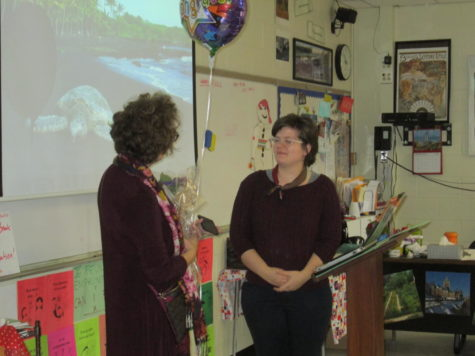 Madame Mazzola Earns Teaching Honor