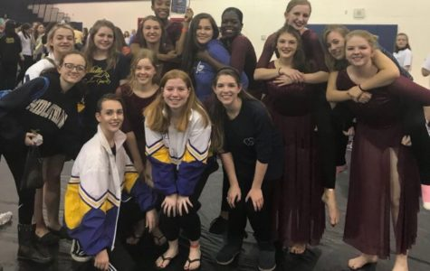Midlothian Winter Guard takes first place at their third competition of the season.