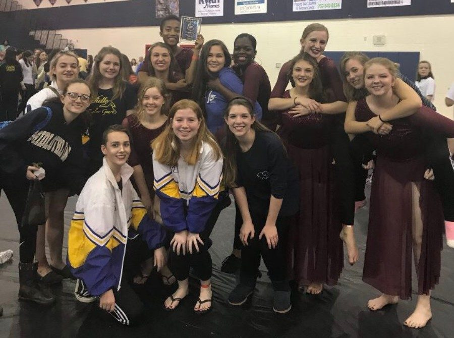Midlothian+Winter+Guard+takes+first+place+at+their+third+competition+of+the+season.