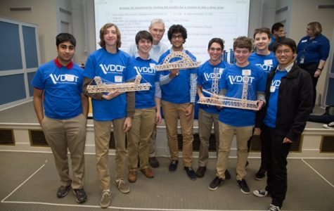 Engineering Students Build Bridges