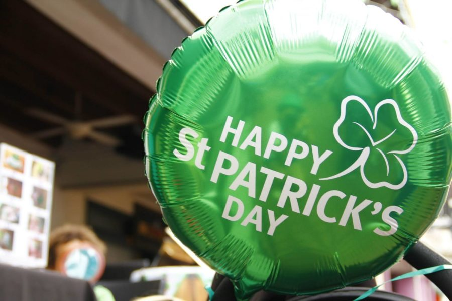 Enjoy St. Patrick's Day treats.
