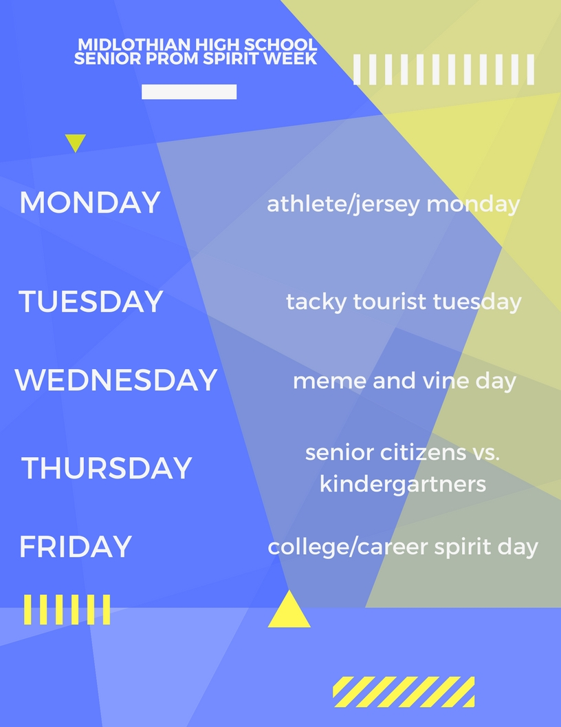 Senior Spirit Week 2018