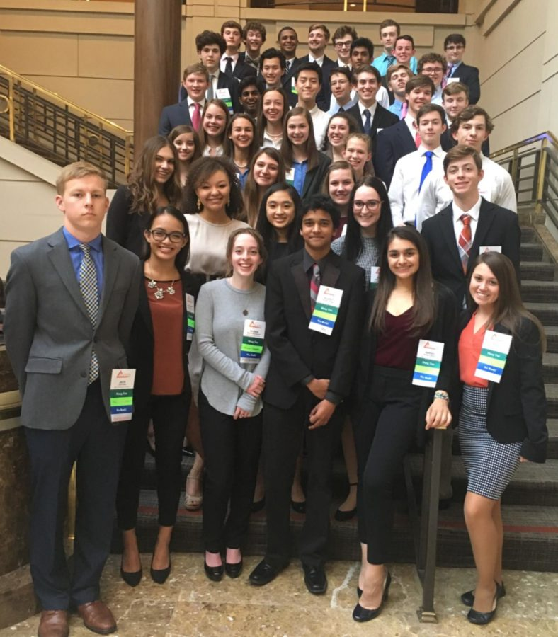 Midlo FBLA makes an outstanding appearance at the state competition in Reston, Virginia.