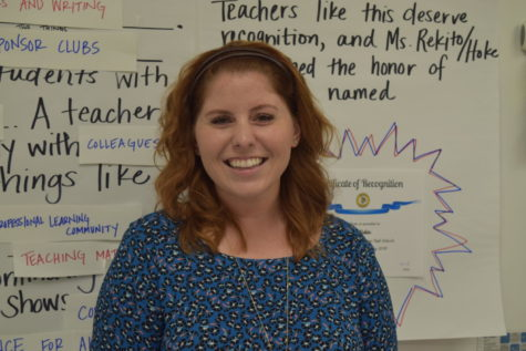 Tully Teaches Her Way to High School Teacher of the Year