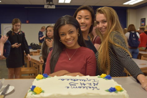 National English Honor Society Inducts New Members