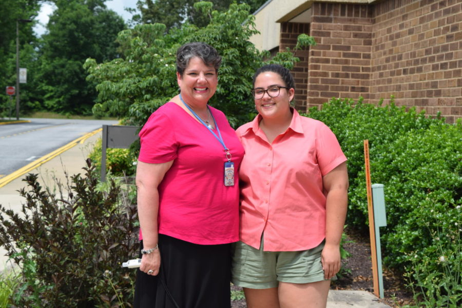 Ms. Charle Gouyer and her daughter, Grace, spend their days at Midlothian .