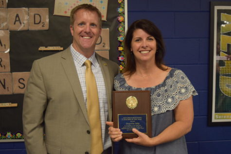 Tully Teaches Her Way to CCPS High School Teacher of the Year