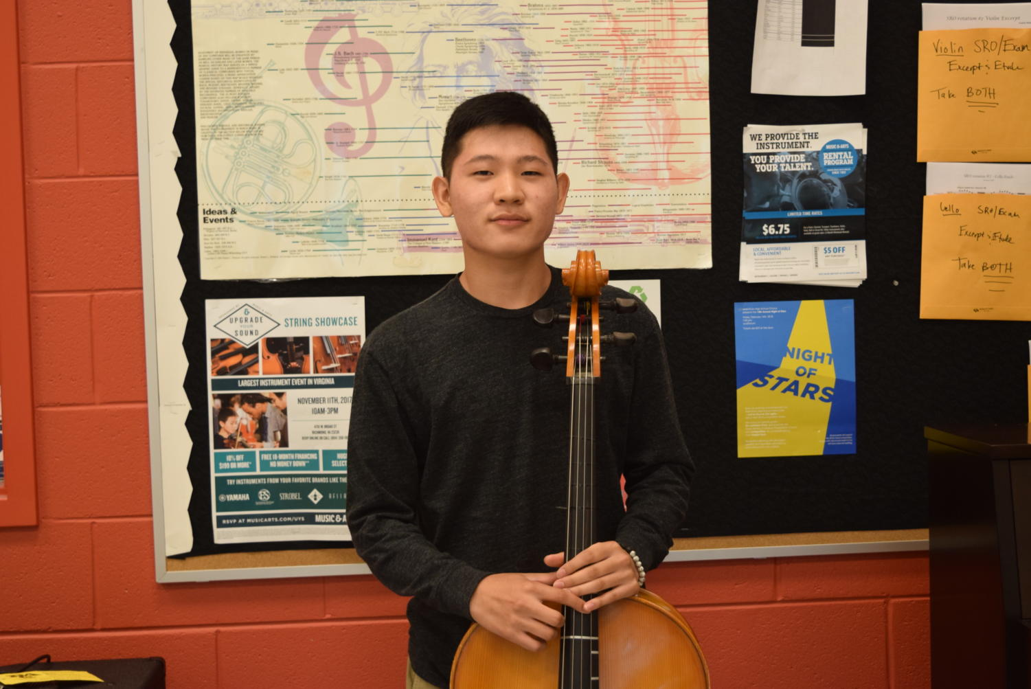 Jason Hwang won 1st place in a competition that leads to Carnegie Hall.