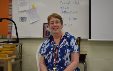 Señora Dombrowski bids farewell to her classroom and school.