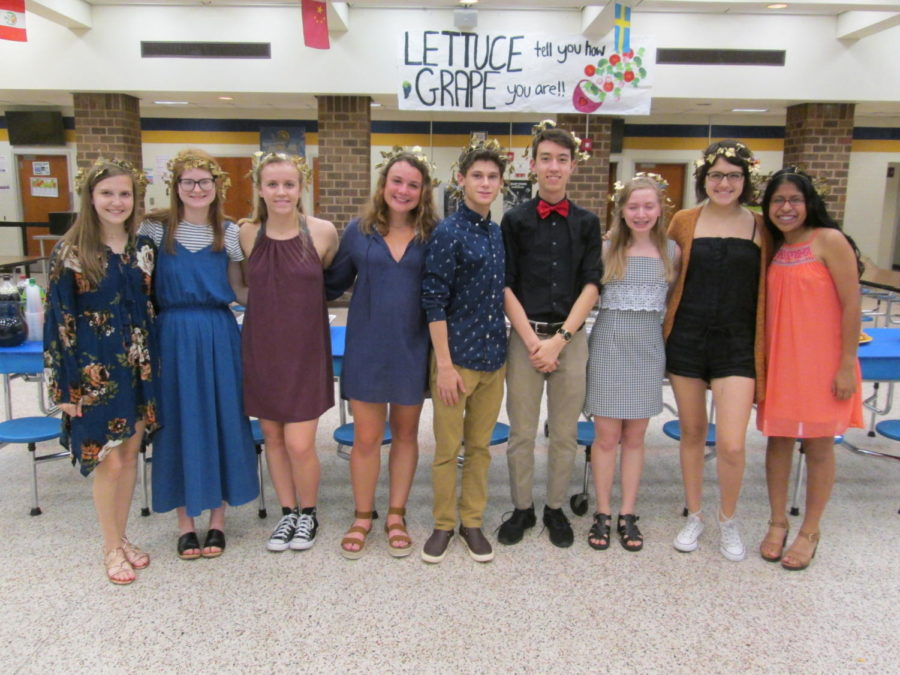 Latin+students+enjoy+Latin+Banquet+2018.