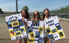 Tennis Seniors Celebrate Successes