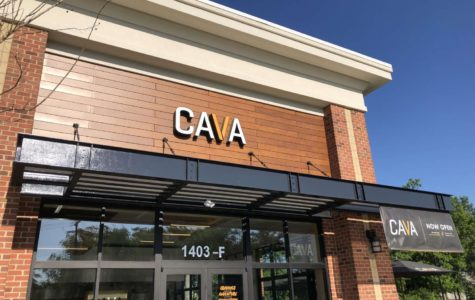 CAVA restaurant on Huguenot Road, Midlothian, is a popular destination.