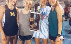 Girls Track Conquers Caroline