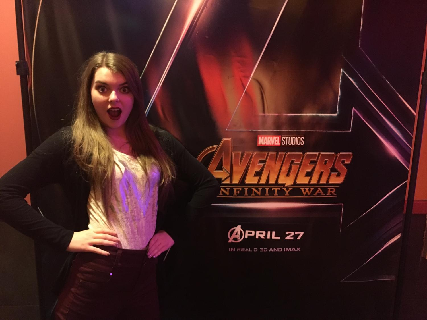 Rachel Bybee is scared but thrilled to watch Avengers: Infinity War.