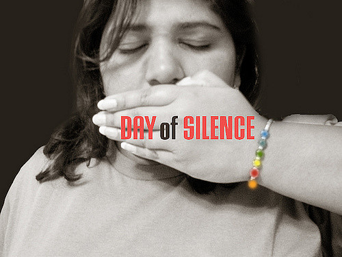 The Day of Silence symbolizes the silencing of LGBT people.