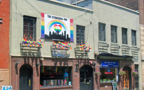 The national monument, the Stonewall Inn, marks the start of Pride Month.