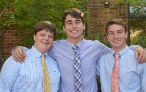 Senior Convocation: Matt Tuch, Brayden Staib, and Carter Averette