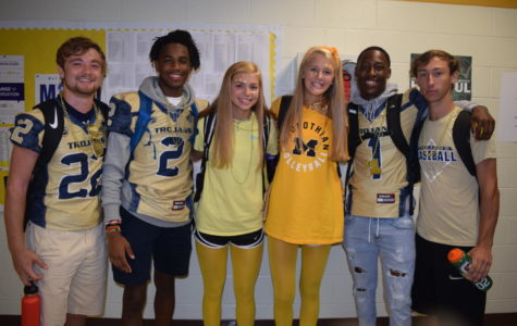Midlo Goes All Out in Blue and Gold