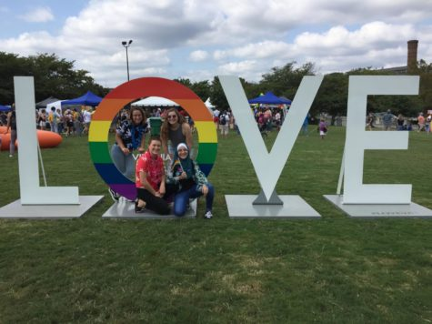 Love Wins at Brown's Island