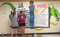 Students Paint Murals During Summer Break