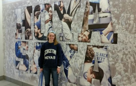 Erin verbally committed to play soccer at Georgetown in early September.